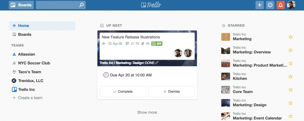 Top 5 online tools for freelancers: Trello